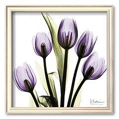 Art.com 'Tulip in Purple' Square Framed Art Print by Albert Koetsier