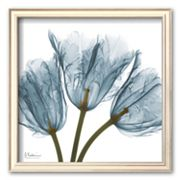 Art.com 'Tulips in Blue' Framed Art Print by Albert Koetsier