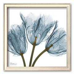Art.com 'Tulips in Blue' Framed Art Print by Albert Koetsier