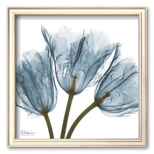 """Art.com """"Tulips in Blue"""" Framed Art Print by Albert Koetsier"""