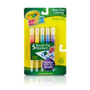 Crayola 5-pk. Color Wonder Classic Brush-Tip Markers