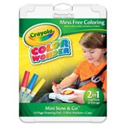 Crayola Color Wonder Mini Stow and Go