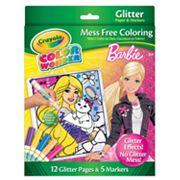 Barbie Color Wonder Glitter Set by Crayola