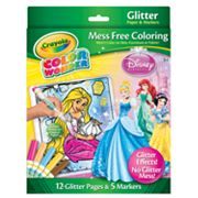 Disney Princess Color Wonder Glitter Set by Crayola