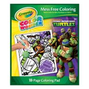 Teenage Mutant Ninja Turtles Color Wonder Coloring Pad by Crayola