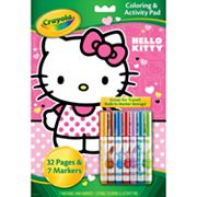 Hello Kitty Coloring Set by Crayola