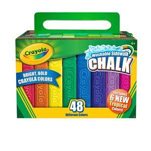 Crayola 48-Pack Tropical Sidewalk Chalk