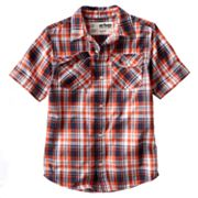 Urban Pipeline Plaid Button-Down Shirt - Boys 8-20