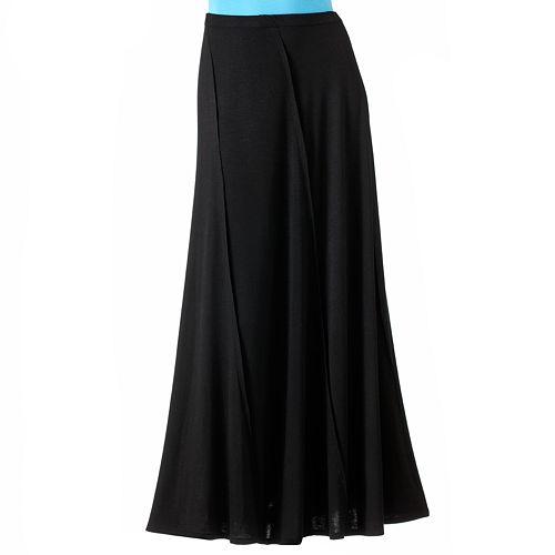 2b2ed2119f ELLE™ Solid Maxi Skirt