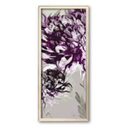 Art.com Purple Allure I Framed Art Print by Sally Scaffardi