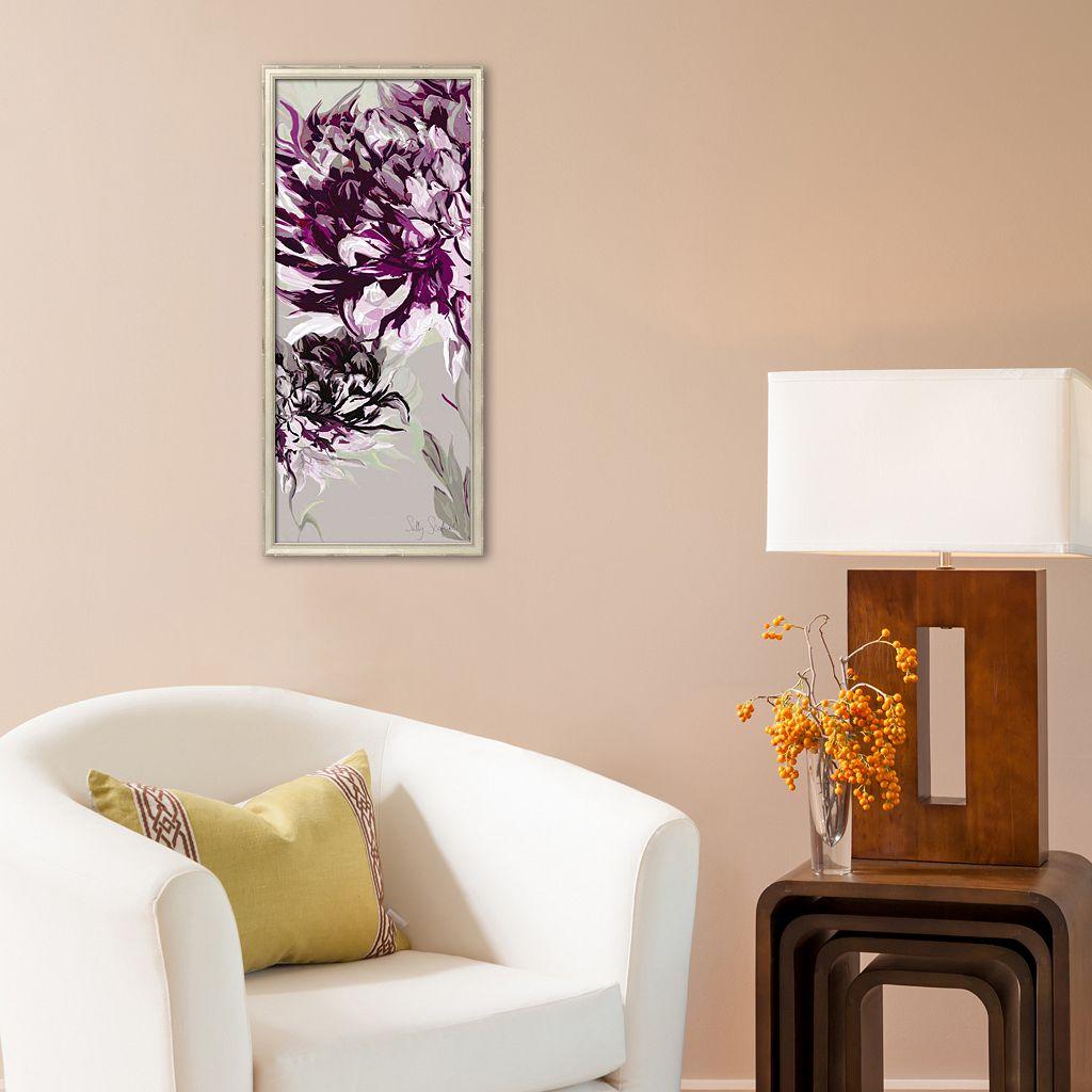 Art.com Purple Allure I Framed Art Print by Sally Scaffardi