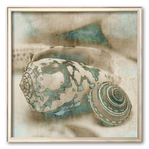 """Art.com """"Coastal Gems I"""" Framed Art Print by John Seba"""