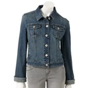 ELLE Cuffed Denim Jacket