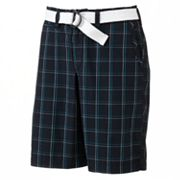 Lee Navy Alley Plaid Shorts - Men