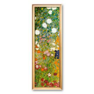 Art.com Flower Garden (detail) Framed Art Print by Gustav Klimt