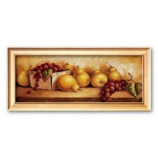 Art.com Fruit Panel I Framed Art Print by Peggy Thatch Sibley