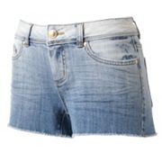 LC Lauren Conrad Distressed Denim Shorts