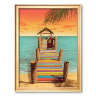 Art.com Tropicana Framed Art Print by Robin Renee Hix