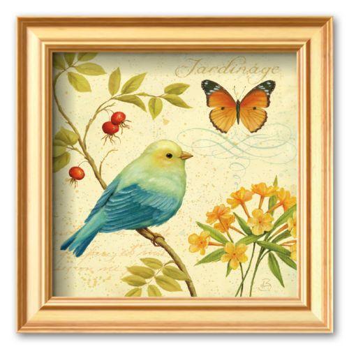 Art.com Garden Passion Framed Art Print By Daphne Brissonnet