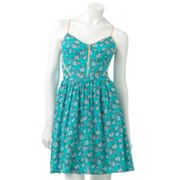 LC Lauren Conrad Floral Challis Dress