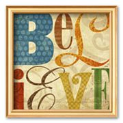 Art.com Believe Framed Art Print By Elizabeth Medley