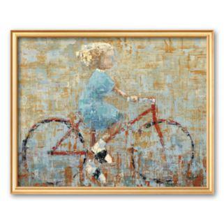 Art.com Bicycle Framed Art Print By Rebecca Kinkead