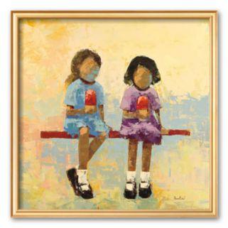 Art.com Cherry Dip Framed Art Print By Rebecca Kinkead