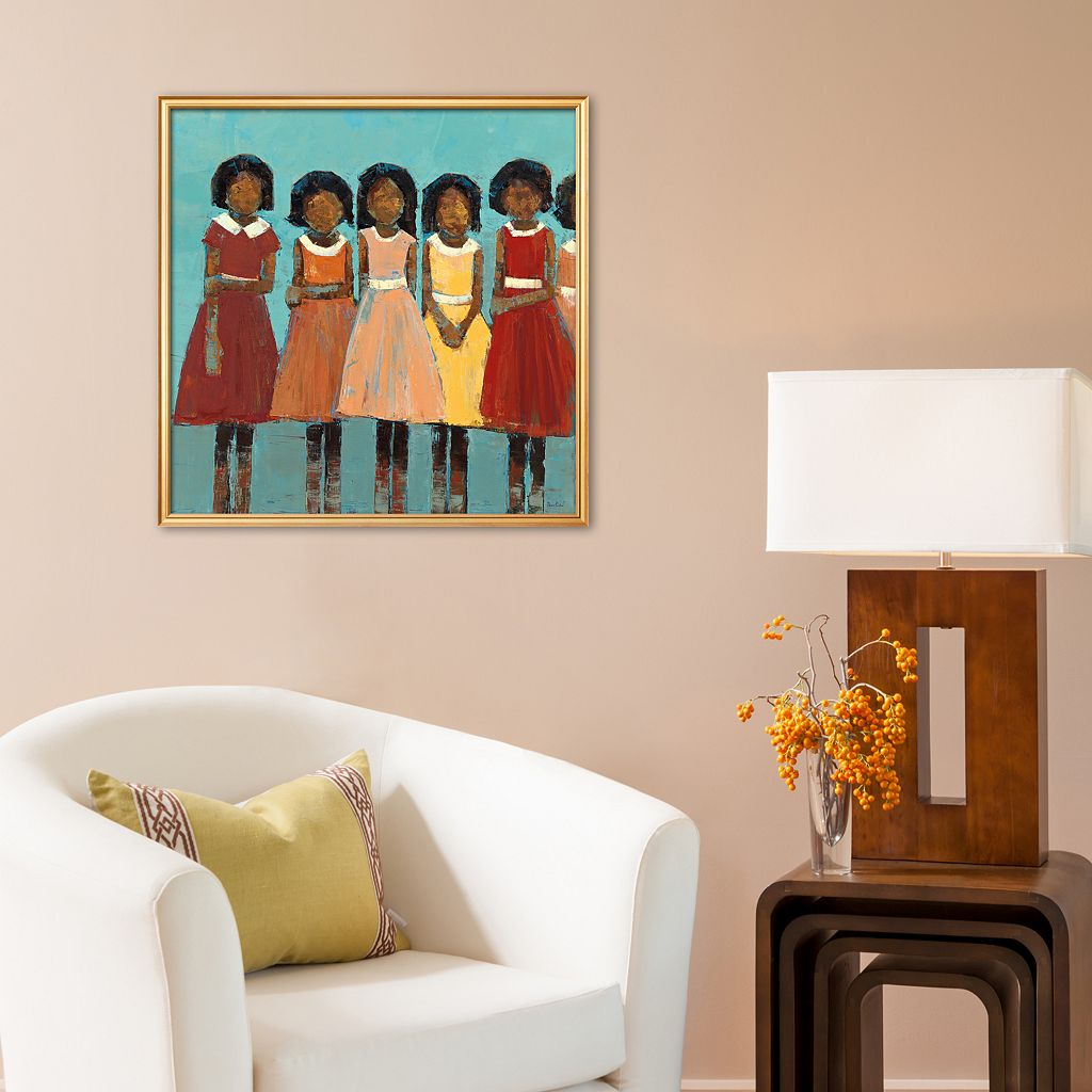 Art.com The Dance Framed Art Print by Becky Kinkead