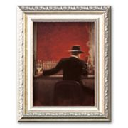 Art.com Cigar Bar Framed Art Print by Brent Lynch