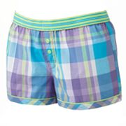 SO Woven Pajama Dorm Shorts - Juniors'