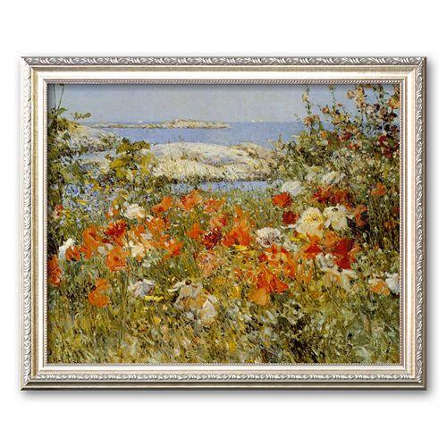 "Art.com ""Ocean View"" Framed Art Print by Childe Hassam"