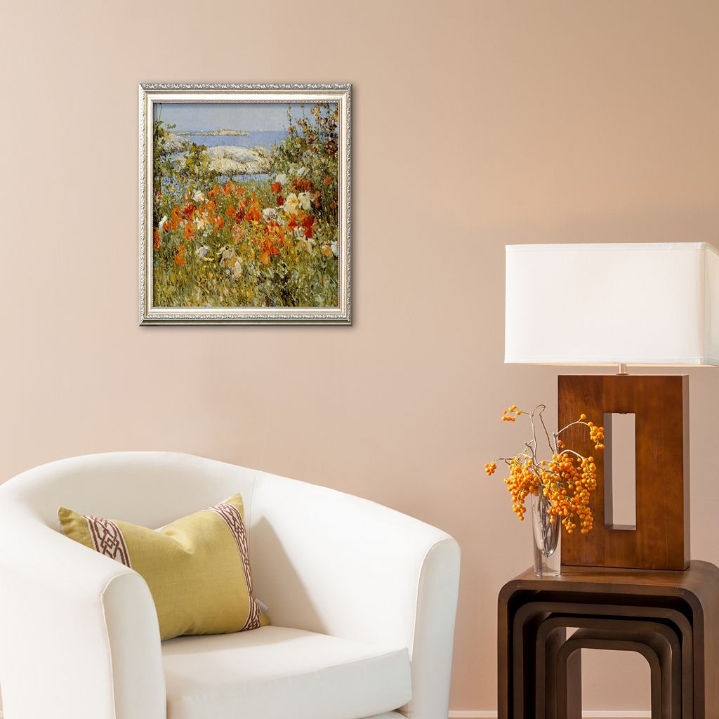 Art.com Ocean View Framed Art Print by Childe Hassam
