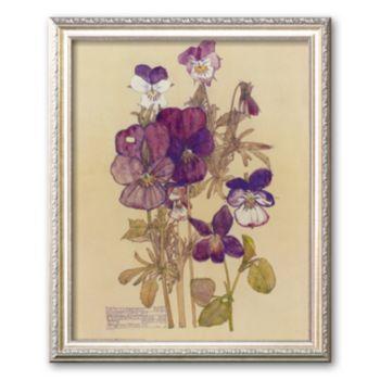 Art.com Wild Pansy Framed Art Print by Charles Rennie Mackintosh