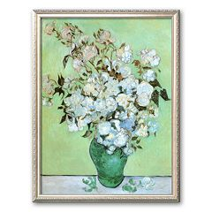 Art.com 'A Vase of Roses, c. 1890' Framed Art Print by Vincent van Gogh
