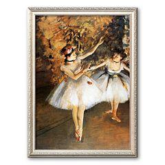Art.com 'Ballerine Alla Barra' Framed Art Print by Edgar Degas