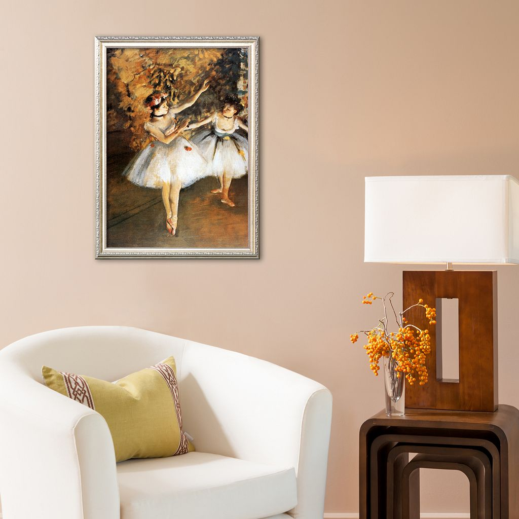 Art.com Ballerine Alla Barra Framed Art Print by Edgar Degas