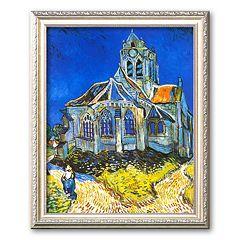 Art.com 'Church at Auvers, c. 1894' Framed Art Print by Vincent van Gogh
