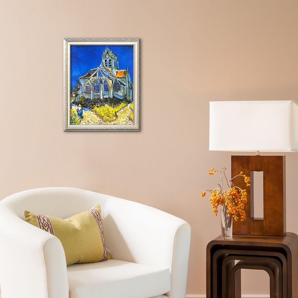 Art.com Church at Auvers, c. 1894 Framed Art Print by Vincent van Gogh
