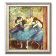 "Art.com ""Dancers in Blue, c. 1895"" Framed Art Print by Edgar Degas"