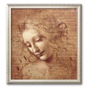 "Art.com ""Female Head (La Scapigliata), c.1508"" Medium Framed Art Print by Leonardo da Vinci"
