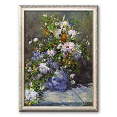 Art.com 'Grande Vaso di Fiori' Framed Art Print by Pierre-Auguste Renoir