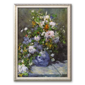 Art.com Grande Vaso di Fiori Framed Art Print by Pierre-Auguste Renoir