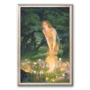 """Art.com """"Midsummer Eve, c.1908"""" Framed Art Print by Edward Robert Hughes"""