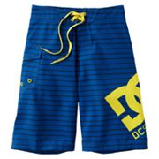 DC Shoe Co Striped Board Shorts - Boys 8-20