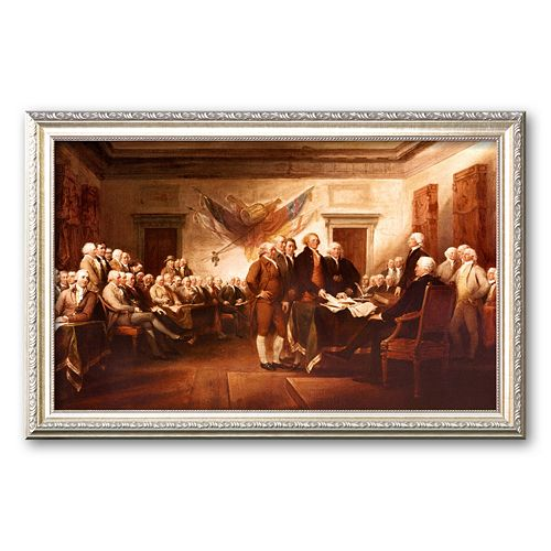 "Art.com ""The Declaration of Independence"" Framed Art Print by John Trumbull"