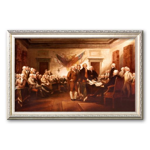 Art.com The Declaration of Independence Framed Art Print by John Trumbull