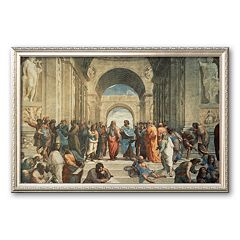 Art.com 'The School of Athens, c.1511 (detail)' Framed Art Print by Raphael