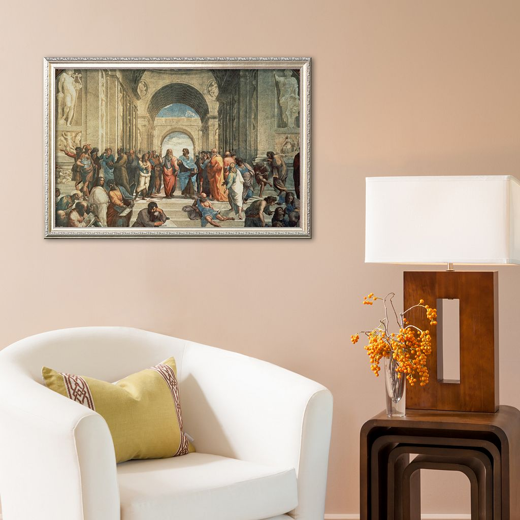 Art.com The School of Athens, c.1511 (detail) Framed Art Print by Raphael