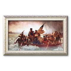 Art.com 'Washington Crossing the Delaware, c. 1851' Framed Art Print by Emanuel Gottlieb Leutze