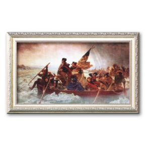 Art.com Washington Crossing the Delaware, c. 1851 Framed Art Print by Emanuel Gottlieb Leutze